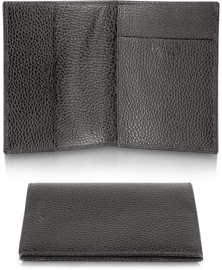 Pineider Country - Genuine Leather Passport Holder