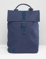 Mi-Pac Canvas Backpack In Navy