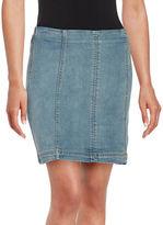 Free People Denim Mini Skirt