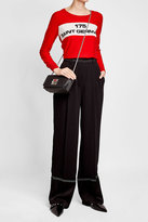 Sonia Rykiel Le Copain Leather Shoulder Bag