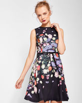Ted Baker Kensington Floral bow detail shift dress