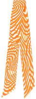 Hermes Printed Silk Twilly