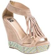 Muk Luks Women's Ciara Beaded Wedge Sandal