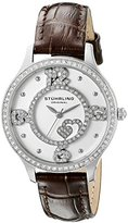 Stuhrling Original Women's 760.01 Symphony Analog Display Quartz Brown Watch