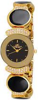 Adee Kaye Genuine NEW Women's Crystal Collection Watch - AK8401-GBK