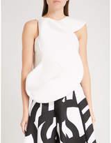 Junya Watanabe Asymmetric cotton top