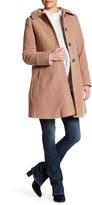 Kimi + Kai Cassidy Wool Blend Walking Coat (Maternity)