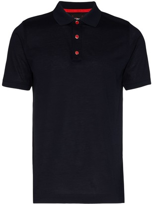 Kiton Placket Polo Shirt