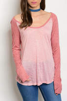 Sweet Claire Blush Long Sleeve