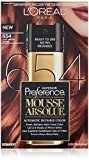 L'Oreal Superior Preference Mousse Absolue, 654 Light Auburn Brown