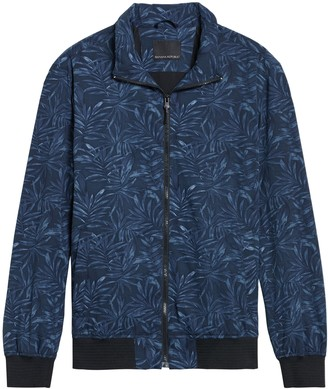 Banana Republic Motion Tech Perforated Bomber Jacket