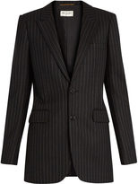 Saint Laurent Pinstriped wool blazer
