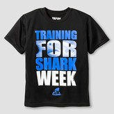 Discovery Boys' Performance Shark week T- Shirt