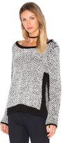 LAmade Aubrey Side Slit Sweater