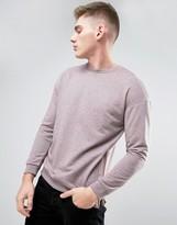 Jack and Jones Originals Sweatshirt with Zip Seam in Drop Shoulder