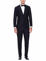 Black Slim Fit Peak Lapel Chelsea Tuxedo