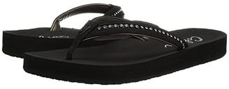 Cobian Cartier Skinny Bounce II (Black) Women's Sandals