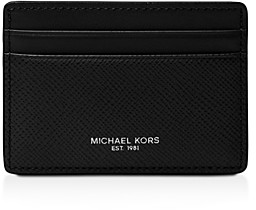 Michael Kors Harrison Cross Grain Leather Card Case