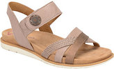 Softspots Comfortiva by Adjustable Leather Sandals - Alonsa