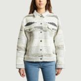 Levi's Made&Crafted - White Tribal Trucker Jacket - 1 | white | Acrylic - White/White