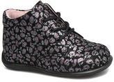 Minibel Kids's Habiah Hi-top Lace-up Shoes in Black