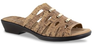 Easy Street Shoes Petunia Wedge Sandal