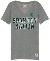 Victoria's Secret Victorias Secret Michigan State University Perfect V-Neck Tee