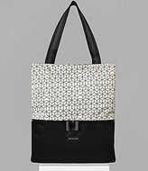 Sherpani Essentials Collection Sloan Geometric Recycled Vertical Laptop Tote