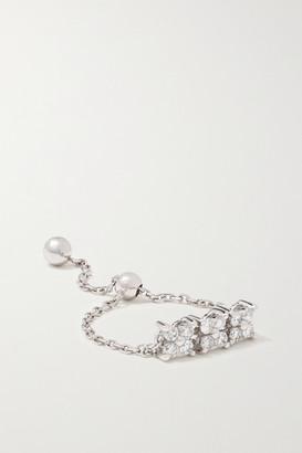 Anissa Kermiche Bronte 14-karat White Gold Diamond Ring - one size