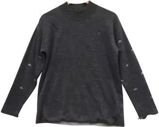 Issey Miyake Grey Cotton T-shirts