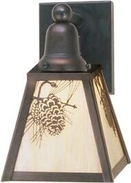 Winter 1-Light Bath Sconce Meyda Tiffany