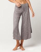BEBOP Marled Knit Womens Culotte Pants