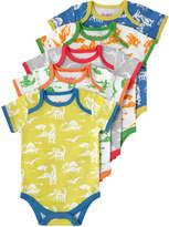 Cath Kidston Mono Dino Baby 5 Pack Bodysuit