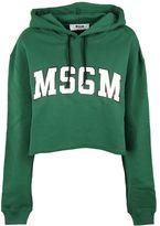 MSGM Cropped Hoodie