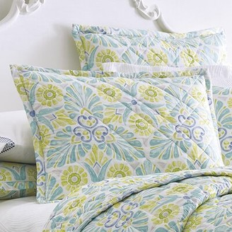 Company C Painted Medallions Quilted Sham CompanyC Size: King