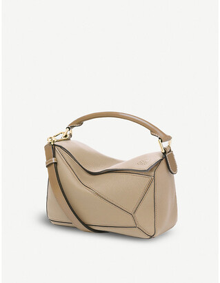 Loewe Puzzle small multi-function leather bag