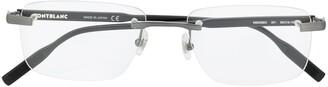 Montblanc Clear Frame Glasses