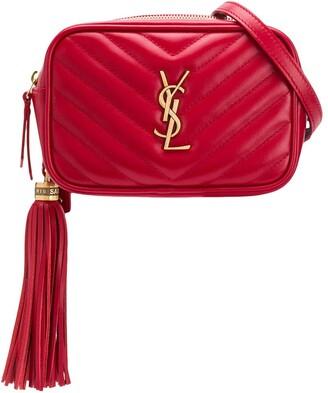 Saint Laurent tassel-detail Lou belt bag
