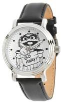 Sesame Street Women's Women's Silver Vintage Alloy Watch - Black