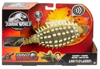 Mattel Jurassic World Roarivores Ankylosaurus Figure