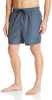 Nautica Men's Quick Dry Micro Arrow Print Swim Trunk