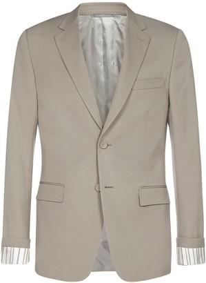 Dior Homme Striped Sleeve Blazer