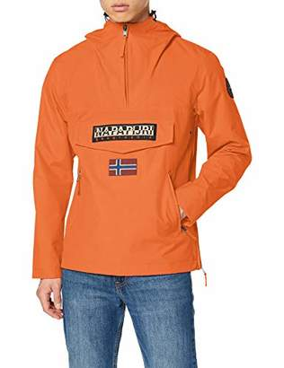 Napapijri Men's Rainforest S Pkt Amber Orange Jacket, A44, X-Large