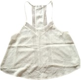 Free People White Viscose Tops