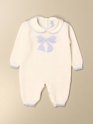 Siola Footed Jumpsuit With Bow