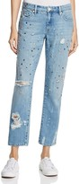 Blank NYC BLANKNYC Studded & Distressed Jeans in Medium Wash