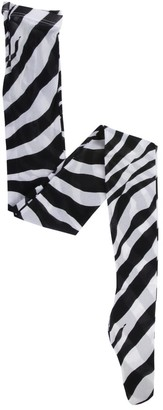 Dolce & Gabbana Zebra Printed Tights