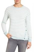 Caslon Side Snap Sweater (Regular & Petite)