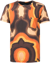 OSKLEN psychedelic print T-shirt - men - Cotton - P