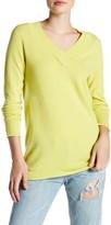 Kinross Cashmere V-Neck Swing Sweater